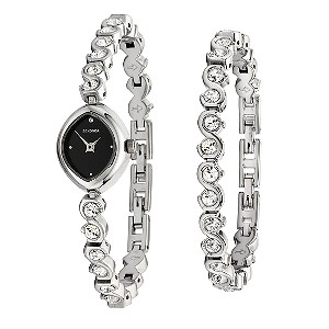 50% discount on Sekonda Ladies' Swarovski Watch and Bracelet Gift Set