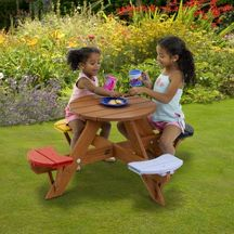 Children's Round Picnic Table for £100